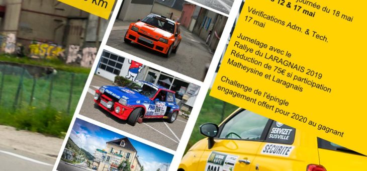 Nouveau parcours pour le Rallye de la Matheysine !