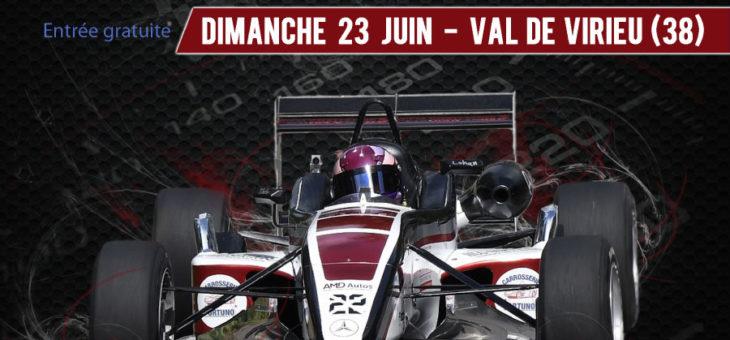 Slalom en cote de Virieu sur Bourbre le 23 juin 2019