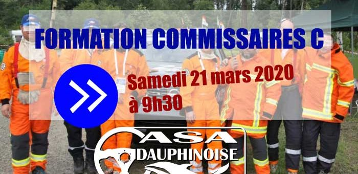 Campagne Formation commissaire « C »