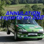 Annulation rallye chartreuse 2020