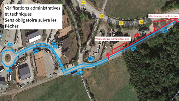 Liste officelle des engagés du 34ème Rallye du Trièves