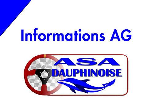 Informations AG du 21/11/2020 et Challenges 2020
