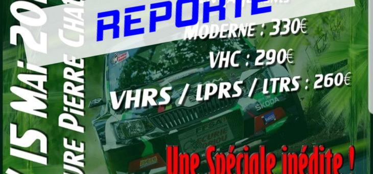 Report du Rallye de la Matheysine