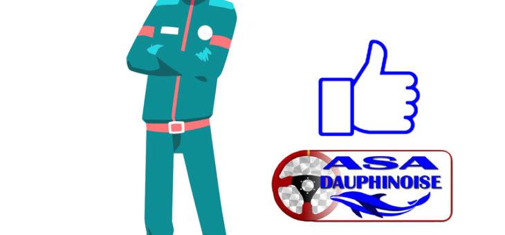 L'ASA Dauphinoise au soutien de ses pilotes et copilotes licenciés en  2021